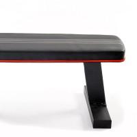 阿迪达斯(Adidas)哑铃凳平板凳卧推凳健身器材 家用水平训练椅ADBE-10232 健身器材