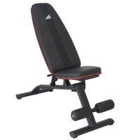 阿迪达斯adidas多功能哑铃凳 仰卧起坐健腹肌板 家用运动健身器材 ADBE-10235