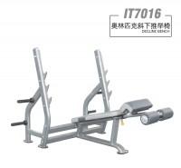 英派斯   IT7016奥林匹克斜下推举椅