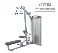 英派斯  IF8102   高拉力背肌及坐式划船拉力训练器