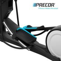 美国Precor必确美国原装进口EFX885商用椭圆机磁控踏步静音健身器材
